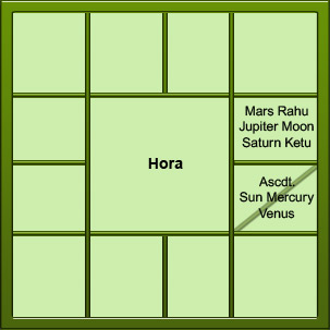 Vedic divisional charts