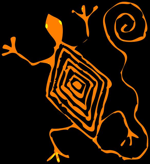 Mayan Animal Xibkay aka Lizard