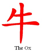 Chinese Zodiac Sign Ox
