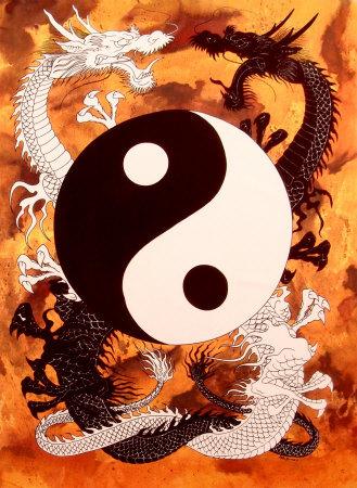 Chines Yin Yang I Ching