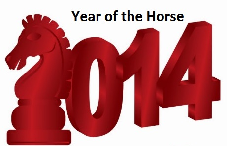 2014 Chinese Zodiac Year of the horse