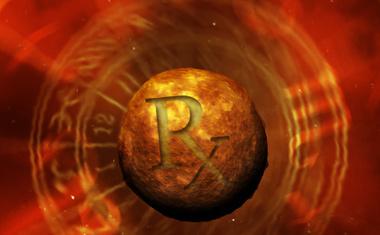 Retrograde Symbol