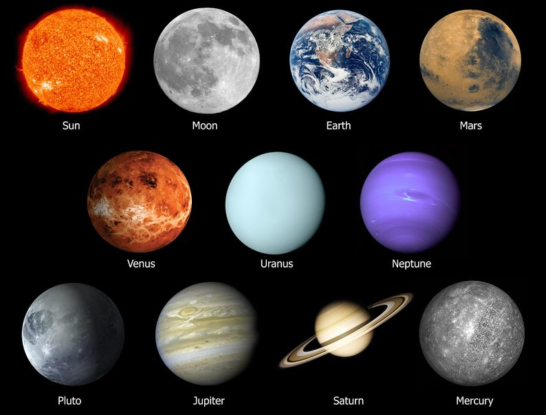 color of our planets - photo #2